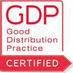 GDP (Good Distribution Practice) certified
